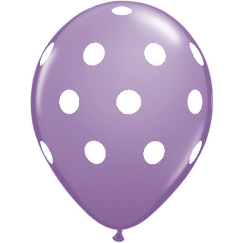 Polka Dot Balloons Purple Carousel Party Easter Party Halloween Party Essentials
