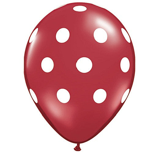 Polka Dot Balloons Red Rock'n'Roll Party Firefighter Party Carnival Party Christmas Party Ladybug Party