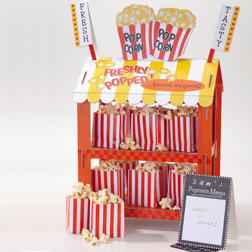 Pop Corn & Hot Dog Stand for birthday parties