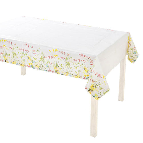 FLORAL TABLECLOTH IDEAL FOR A FLORAL OR SPRING BIRTHDAY PARTY