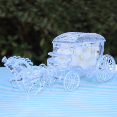 Princess Carriage Favor Boxes