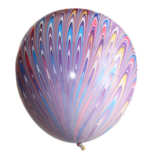 Peacock Balloons Purple