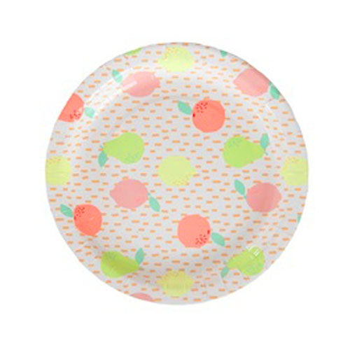 Fruit Party Plates - Large