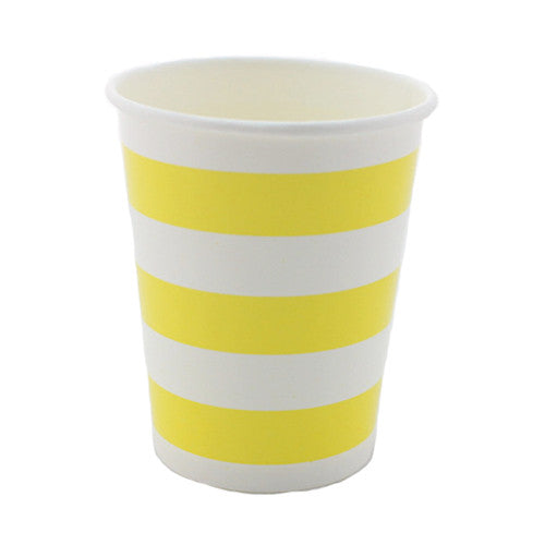 Plates, Cups & Napkins Yellow Carnival - Circus Party Carnival Party Ice Cream Party