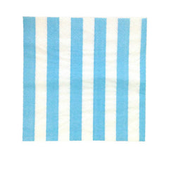 Blue party Striped Napkins Plates, Cups & Napkins Blue Ice Cream Party Carnival Party Baby Shower Boy Baby Shower - Boy Rock'n'Roll Party - Girl