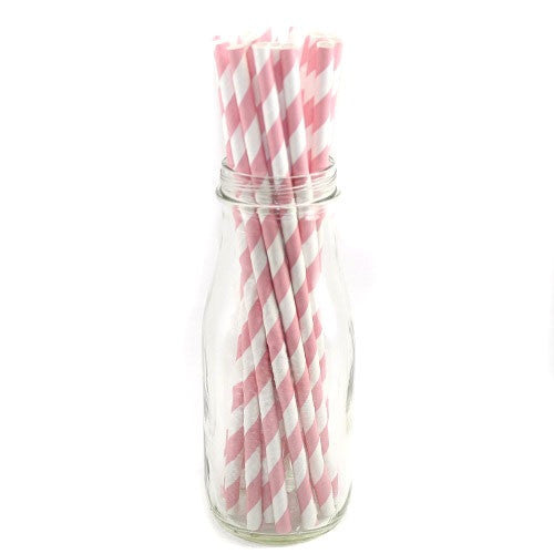 Paper Straws Baby Pink