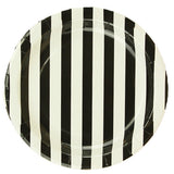 Striped Plates - Black