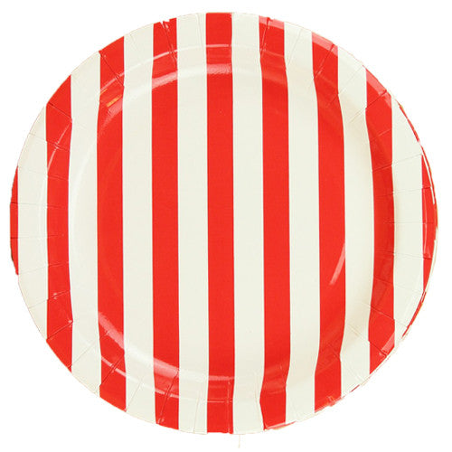 Red party Striped Plates Plates, Cups & Napkins Red Firefighter Party Christmas Party Pirate Party Ladybug Party 4th of July Party Ladybug Party Rock'n'Roll Party Be my Valentine Party Carnival - Circus Party Farm Party Ninja Party Carnival Party