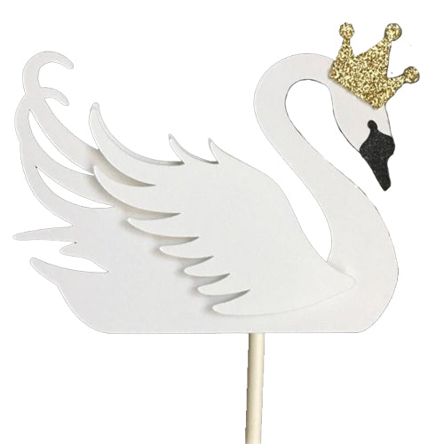 Swan Cupcake Toppers