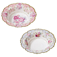 Tea Party Floral Bowls