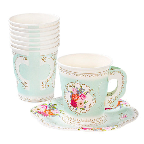 Tea Party Cups with Handle