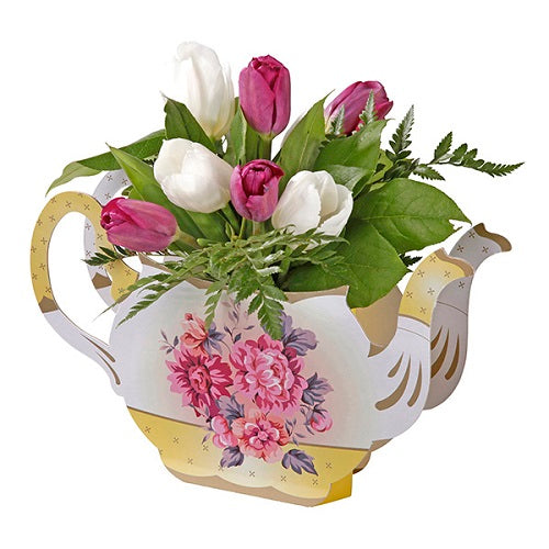 Tea Party Teapot Vase