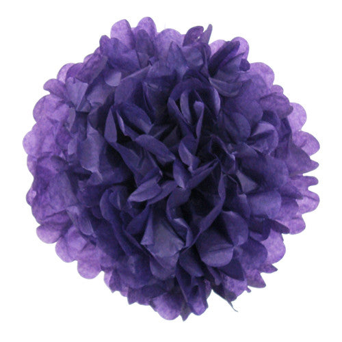 Pom poms  Purple Halloween Day of the Dead Party Halloween Party Essentials