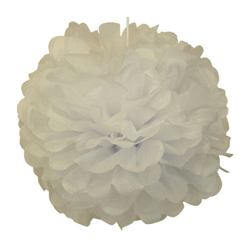 Pom poms White Fairy Party