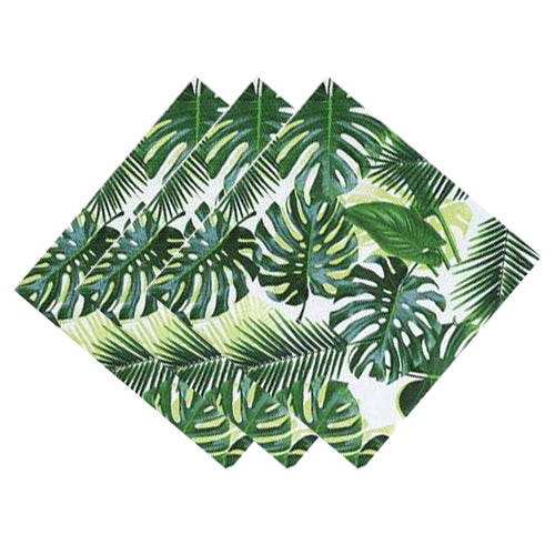 Tropical Leaf Napkins