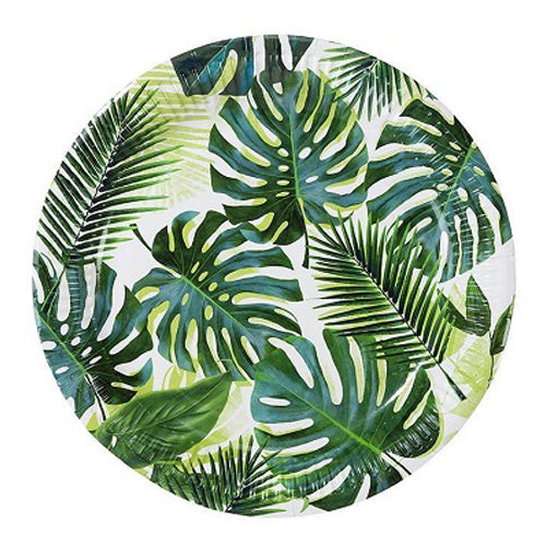 Tropical Leaf Plates