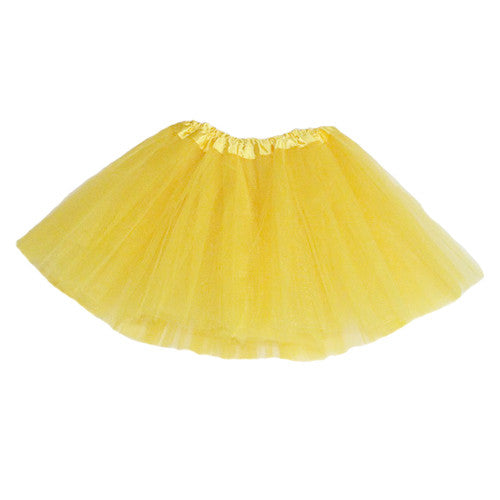 Tutu Skirt - Yellow Fairy birthday party