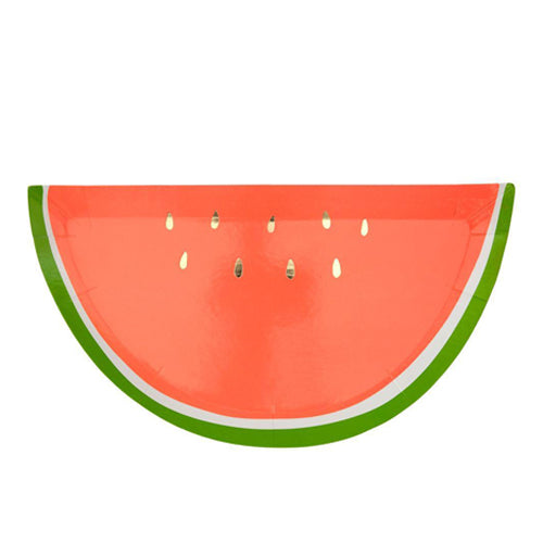 WATERMELON SHAPED PLATES