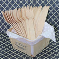 Wooden Forks - Natural - Full size