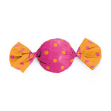 Candy Wrapping Paper (6 X 6.5 inches) - Orange & Pink