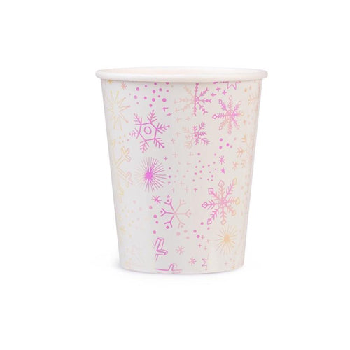 FROSTED PARTY CUPs FROZEN PARTY CUPS