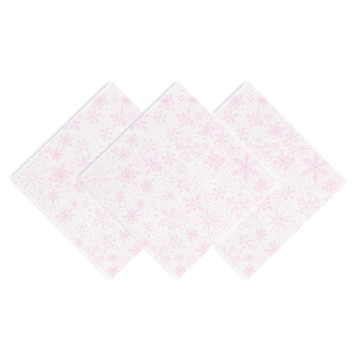 FROSTED PARTY NAPKINS