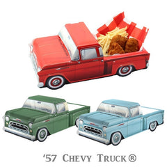 Chevy Truck favor box ideal for a Farm birthday Party in three colors red, blue and green.
