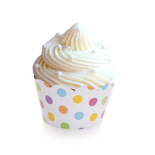 Mini Cupcake Wrappers - Dotilicious