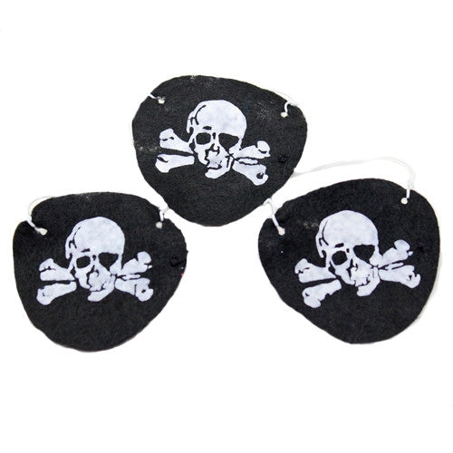 Pirate Eye Patches (12 per pack)