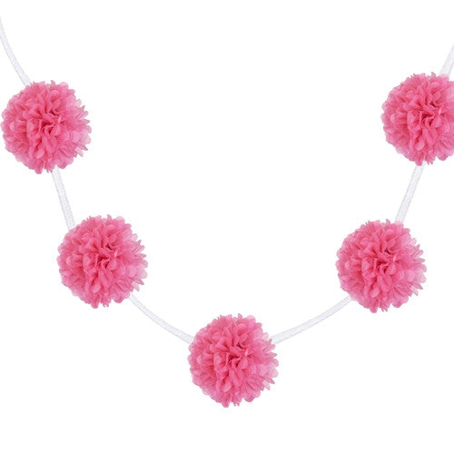 Pom poms Pink Easter Party Mexican Fiesta