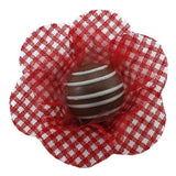 Petite Blossom Cups - Isabella - Gingham - Red (25 per Pack) - Petite Blossom Cups - Isabella - Gingham - Red (25 per Pack)