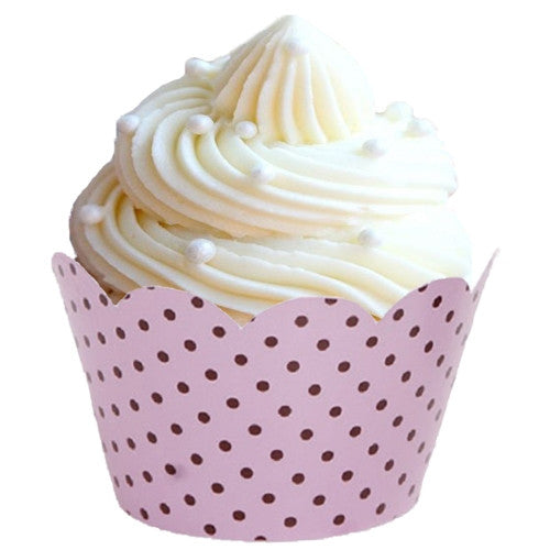 Cupcake Wrappers & Liners Baby Pink Shabby Chic Party Sale