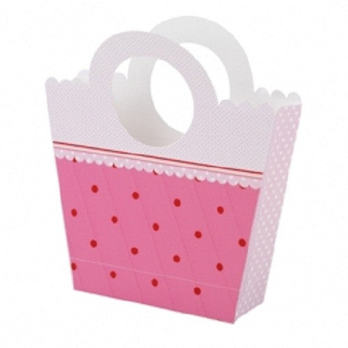 Treat handbag - Favor box pink
