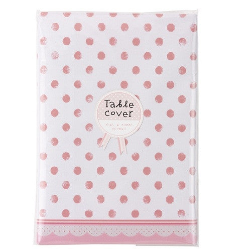 Pretty in Pink Table Cover
