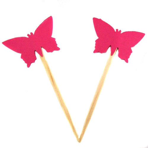 Cupcake Toppers - Butterfly (set of 12)
