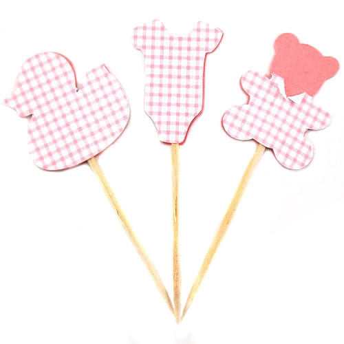 Cupcake Toppers - Baby Girl