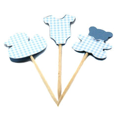 Cupcake Toppers - Baby Boy