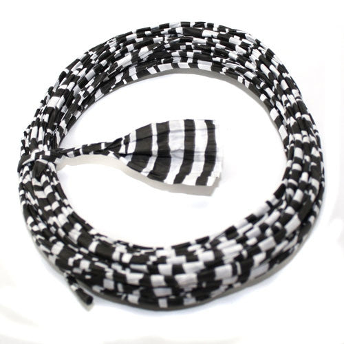 Zebra Twisted Paper Ribbon