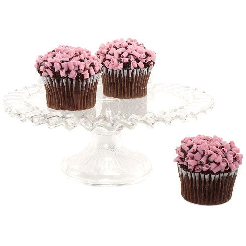 Ruffled Edge Cake Stand - Large