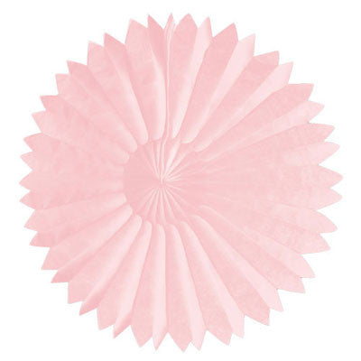Paper Daisy Fans Tissue Fans Baby Pink Princess Party