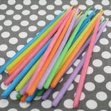Extra Long Cake Candles - Assorted (24 per Pack) - Extra Long Cake Candles - Assorted Colors