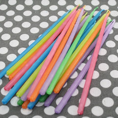 Extra Long Cake Candles - Assorted Colors