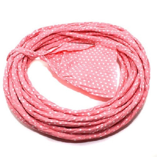 "Pink Twisted Paper Ribbon - 3"" Width"