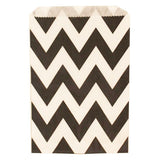 Chevron Treat Bag - Black - Chevron Treat Bag - Black