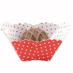 Petite Baskets - Polka Dot Red - Small