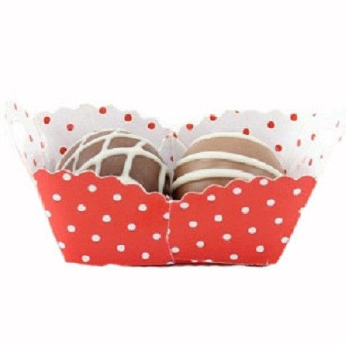 Petite Baskets - Polka Dot Red - Large