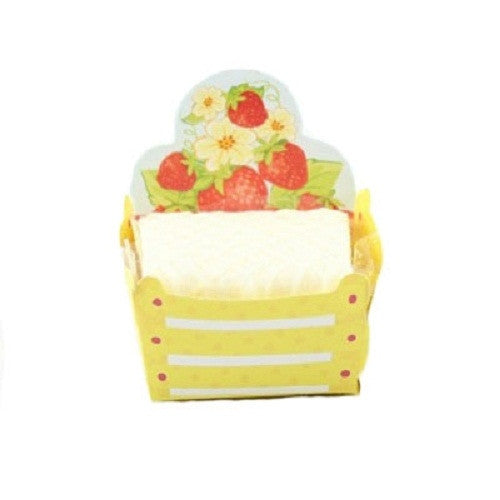 Petite Cups - Berry Baskets - Yellow (24 per Pack)