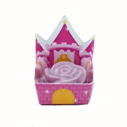 Petite Cups - Princess Castle - Pink/Purple  (24 per Pack)