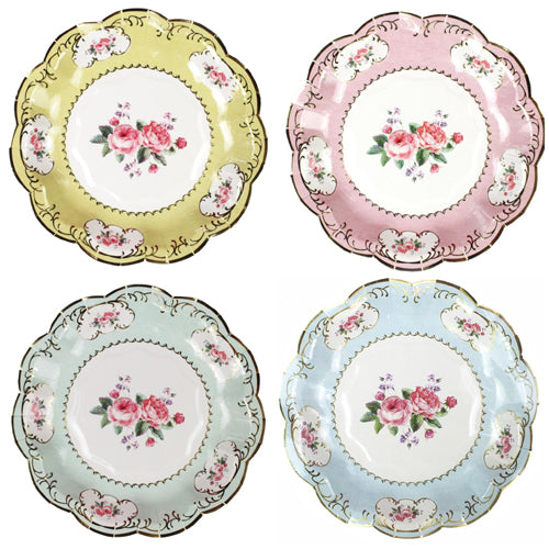 Lovely Tea Party Plates - Small