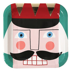 Nutcracker Party Plates